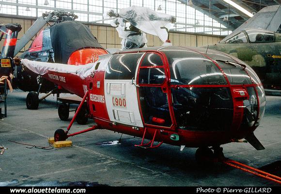 Pierre GILLARD: Alouette III &emdash; 053549