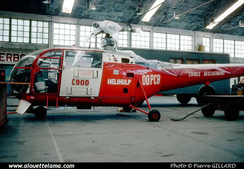 Pierre GILLARD: Alouette III &emdash; 053550