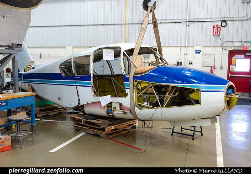 Pierre GILLARD: Piper PA23 C-GNMA &emdash; 2021-429108