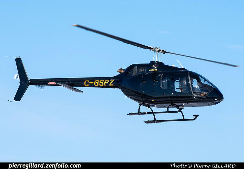 Pierre GILLARD: Canada - Hélicoptères privés - Private Helicopters &emdash; 2021-804449
