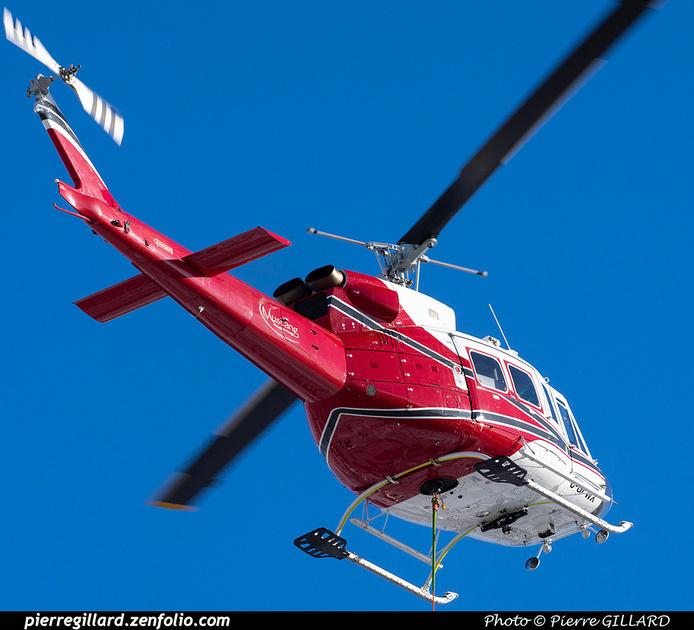 Pierre GILLARD: Canada - Mustang Helicopters &emdash; 2021-804303