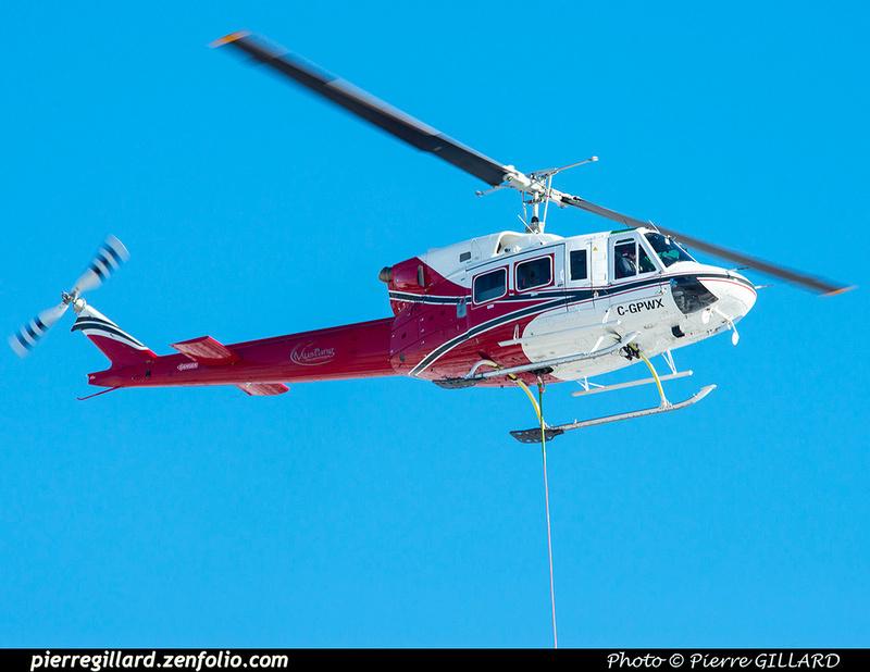 Pierre GILLARD: Canada - Mustang Helicopters &emdash; 2021-625904