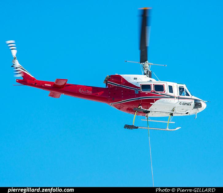 Pierre GILLARD: Canada - Mustang Helicopters &emdash; 2021-625915