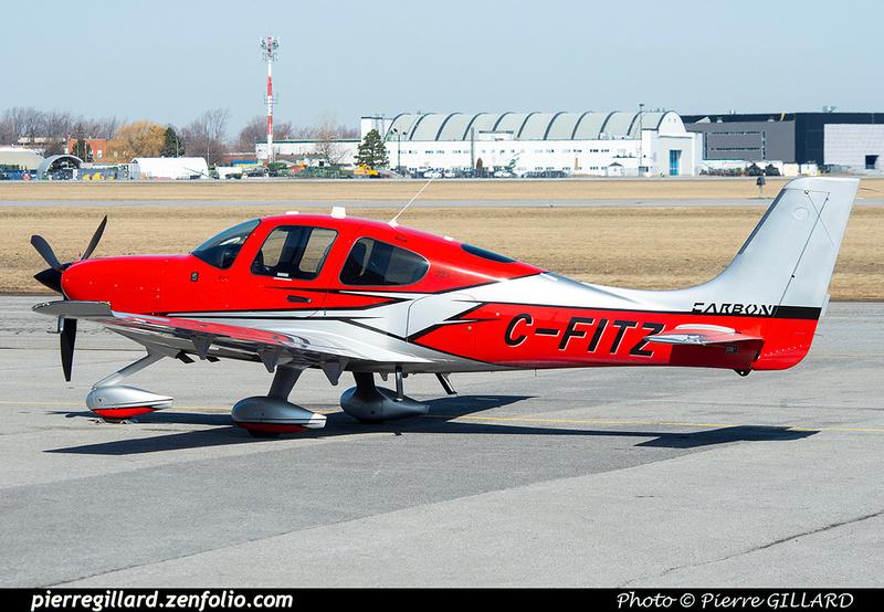 Pierre GILLARD: Private Aircraft - Avions privés : Canada &emdash; 2021-626166