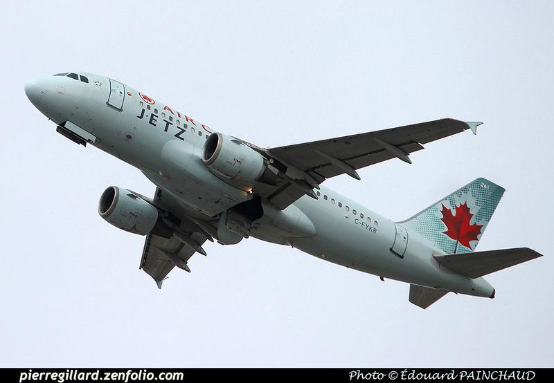 Pierre GILLARD: JetZ (Air Canada) &emdash; 030607