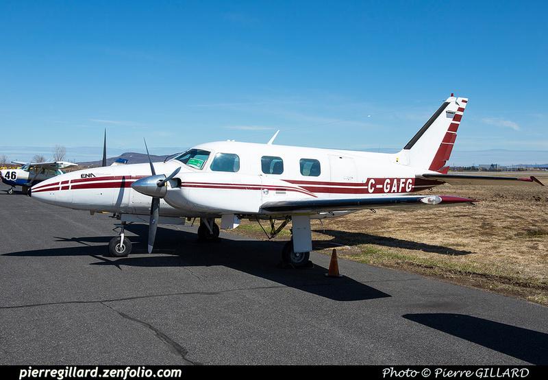 Pierre GILLARD: Piper PA31P C-GAFG &emdash; 2021-429220