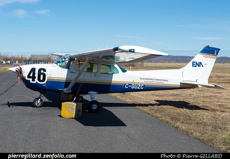 Pierre GILLARD: Cessna 172 C-GUZC &emdash; 2021-429218