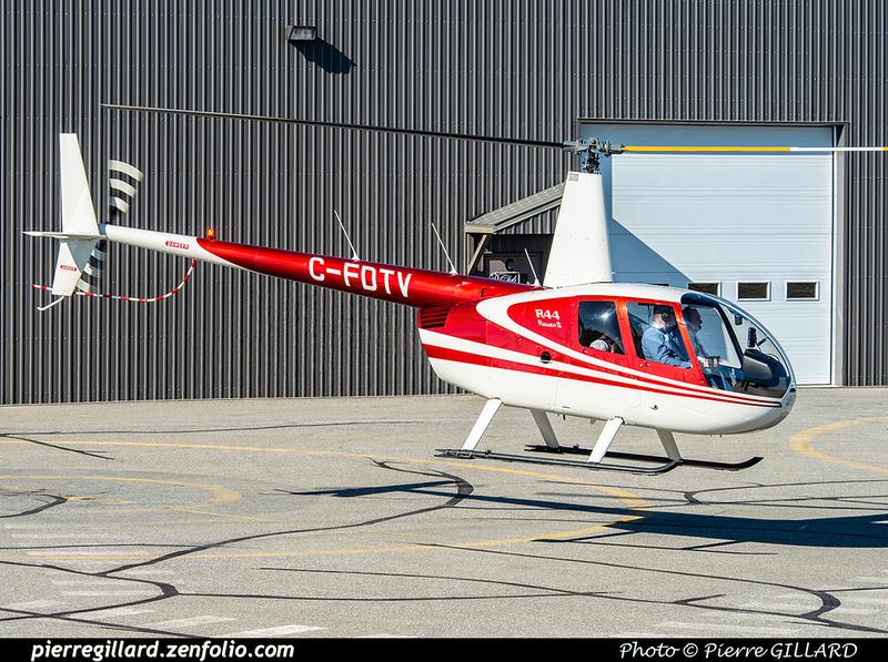 Pierre GILLARD: Canada - Hélicoptères privés - Private Helicopters &emdash; 2021-626238