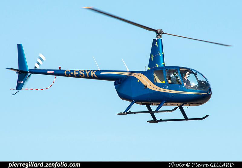 Pierre GILLARD: Canada - Hélicoptères privés - Private Helicopters &emdash; 2021-626225