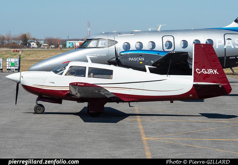 Pierre GILLARD: Private Aircraft - Avions privés : Canada &emdash; 2021-626269