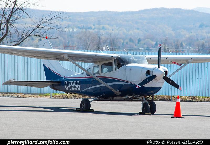 Pierre GILLARD: Private Aircraft - Avions privés : Canada &emdash; 2021-626277