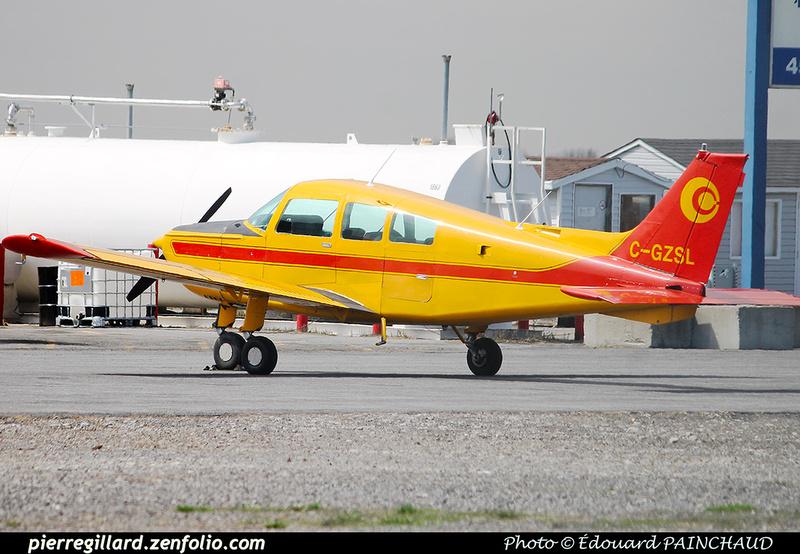 Pierre GILLARD: Canada - Centre québécois de formation aéronautique &emdash; 030612