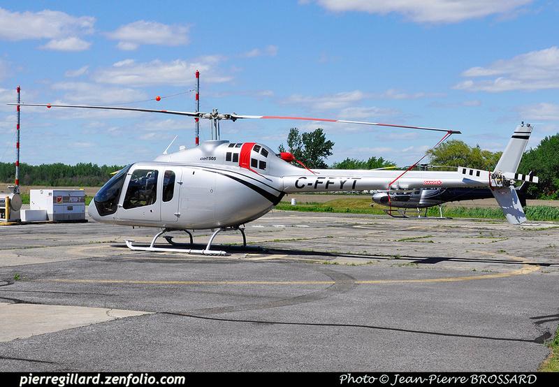 Pierre GILLARD: Canada - Québec Hélicoptères &emdash; 030630