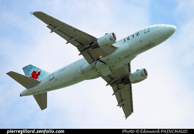 Pierre GILLARD: Jetz (Air Canada) &emdash; 030623