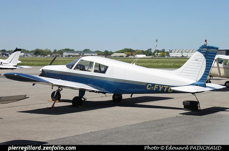 Pierre GILLARD: Private Aircraft - Avions privés : Canada &emdash; 030626