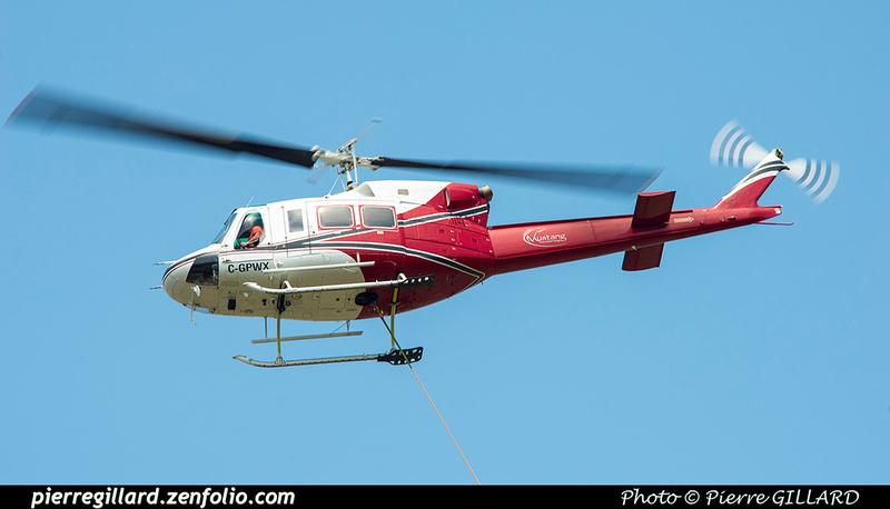 Pierre GILLARD: Canada - Mustang Helicopters &emdash; 2021-626497