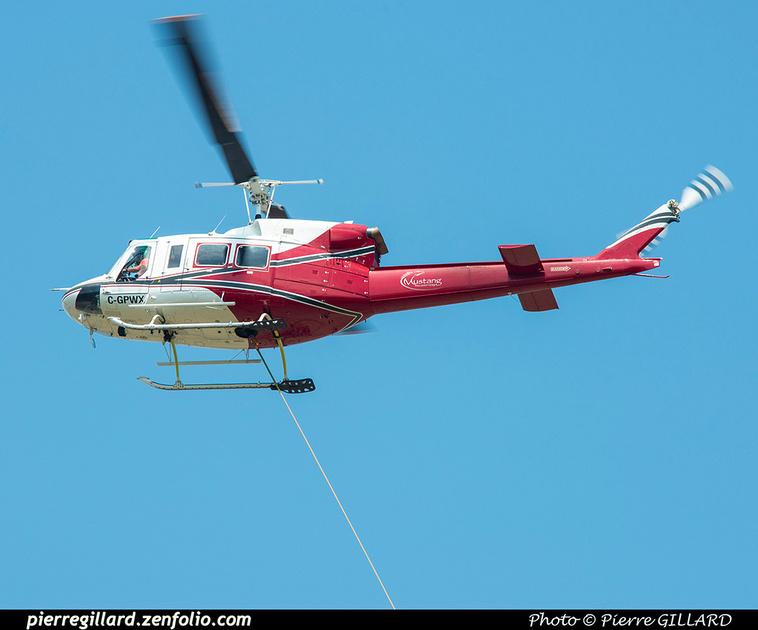 Pierre GILLARD: Canada - Mustang Helicopters &emdash; 2021-626517