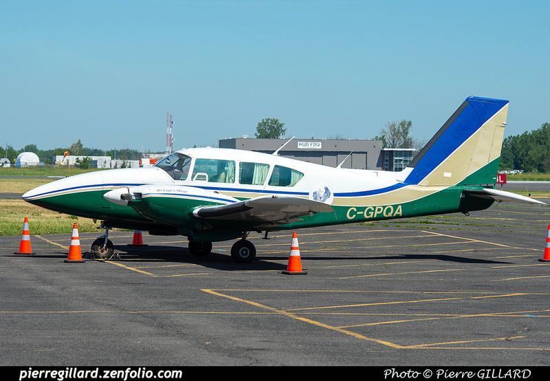 Pierre GILLARD: Private Aircraft - Avions privés : Canada &emdash; 2021-626528