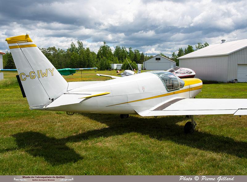 Pierre GILLARD: 2021-06-16 - Découverte de l'avion à Saint-Anselme &emdash; 2021-429585