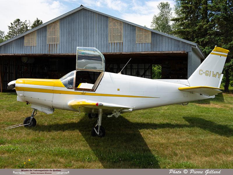 Pierre GILLARD: 2021-06-16 - Découverte de l'avion à Saint-Anselme &emdash; 2021-429607
