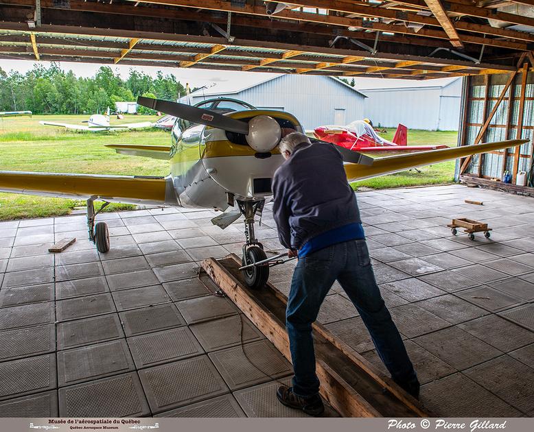 Pierre GILLARD: 2021-06-16 - Découverte de l'avion à Saint-Anselme &emdash; 2021-429572