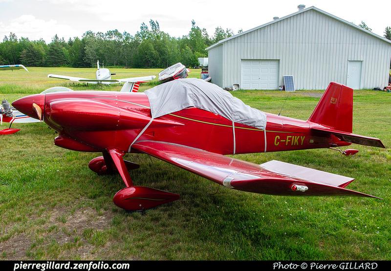 Pierre GILLARD: Private Aircraft - Avions privés : Canada &emdash; 2021-429642