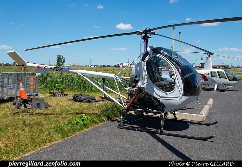 Pierre GILLARD: Canada - Foxair Heliservice-Hélicopro &emdash; 2021-429718