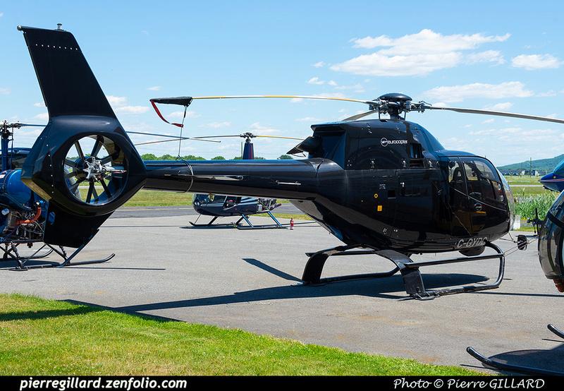 Pierre GILLARD: Canada - Hélicoptères privés - Private Helicopters &emdash; 2021-429732
