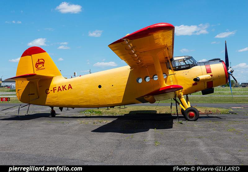 Pierre GILLARD: Antonov An-2 C-FAKA &emdash; 2021-429725
