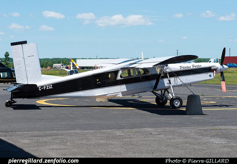 Pierre GILLARD: Private Aircraft - Avions privés : Canada &emdash; 2021-429728