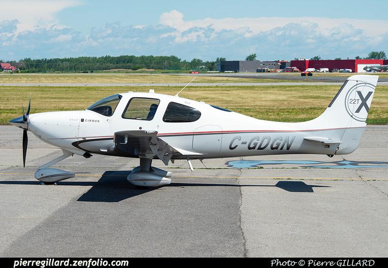 Pierre GILLARD: Private Aircraft - Avions privés : Canada &emdash; 2021-626652