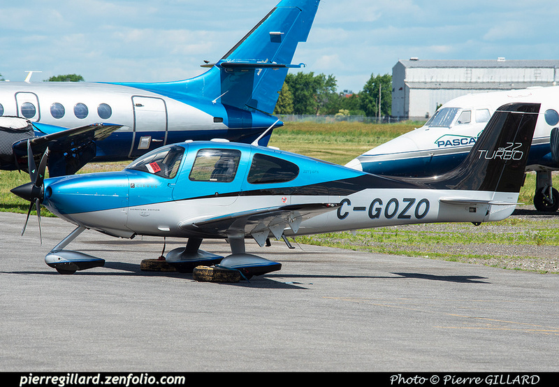 Pierre GILLARD: Private Aircraft - Avions privés : Canada &emdash; 2021-626662