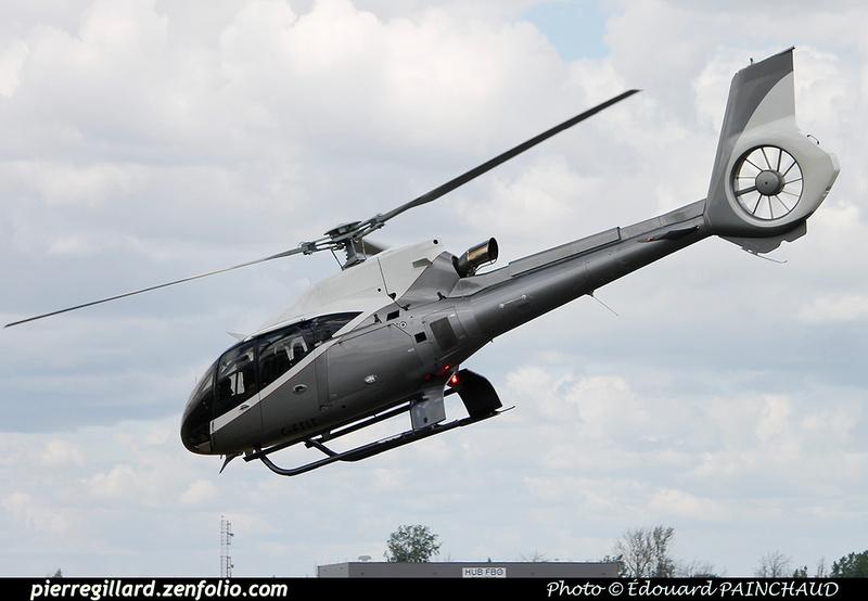 Pierre GILLARD: Canada - Hélicoptères privés - Private Helicopters &emdash; 030635