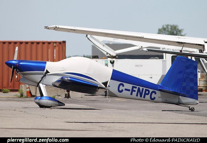 Pierre GILLARD: Private Aircraft - Avions privés : Canada &emdash; 030634
