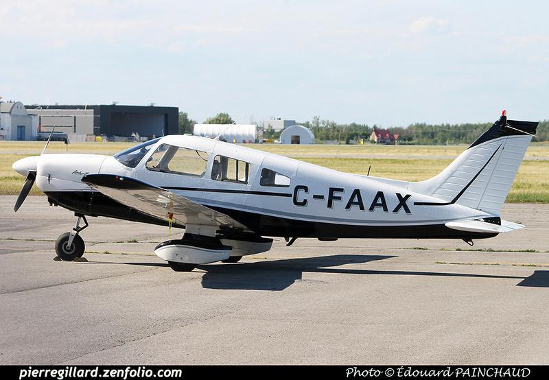 Pierre GILLARD: Private Aircraft - Avions privés : Canada &emdash; 030637