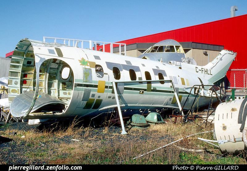 Pierre GILLARD: Hawker Siddeley HS125-1A C-FHLL &emdash; 040879