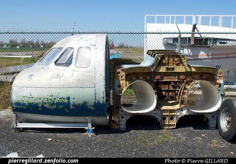 Pierre GILLARD: Hawker Siddeley HS125-1A C-FHLL &emdash; 003377