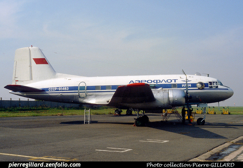 Pierre GILLARD: Aeroflot - Аэрофлот &emdash; 023032