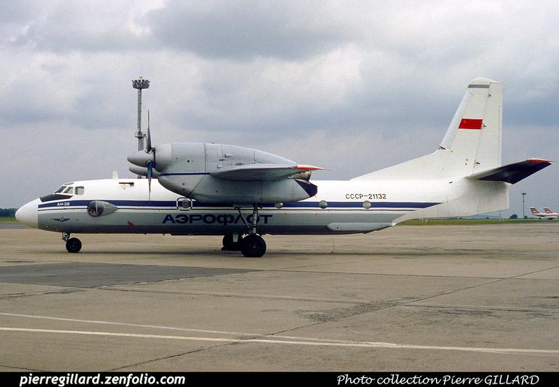 Pierre GILLARD: Aeroflot - Аэрофлот &emdash; 023012