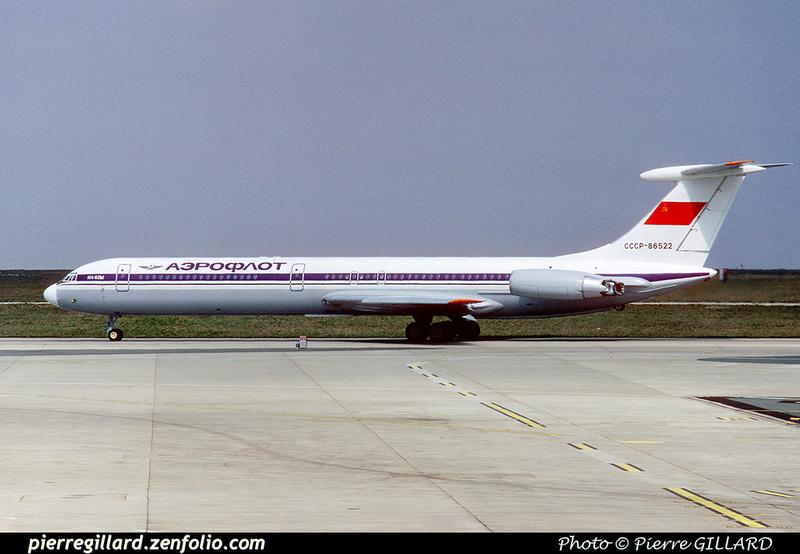 Pierre GILLARD: Aeroflot - Аэрофлот &emdash; 023101