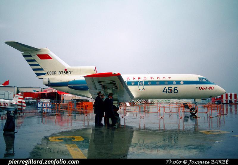 Pierre GILLARD: Aeroflot - Аэрофлот &emdash; 023411