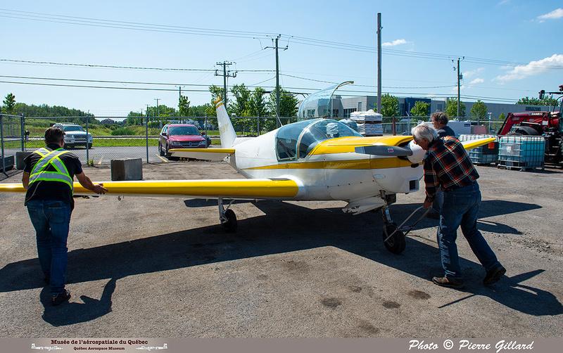 Pierre GILLARD: 2021-07-10 - Dernier vol et arrivée à Saint-Hubert &emdash; 2021-429858