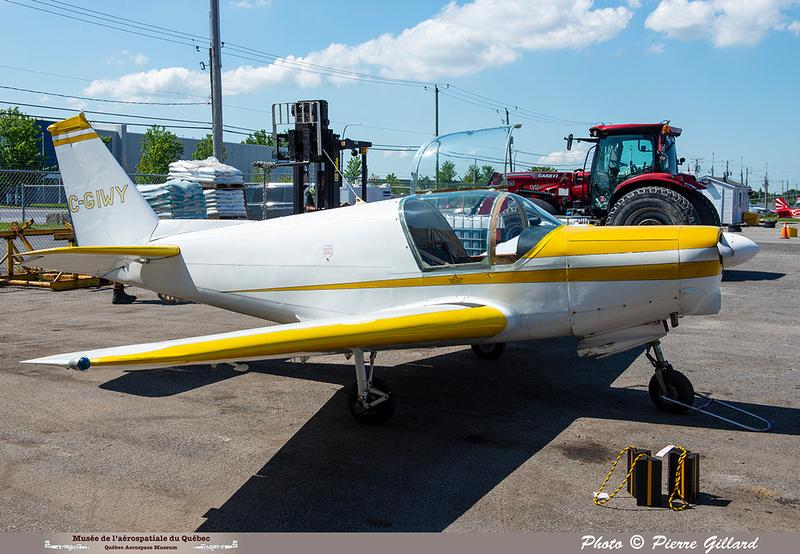 Pierre GILLARD: 2021-07-10 - Dernier vol et arrivée à Saint-Hubert &emdash; 2021-429861