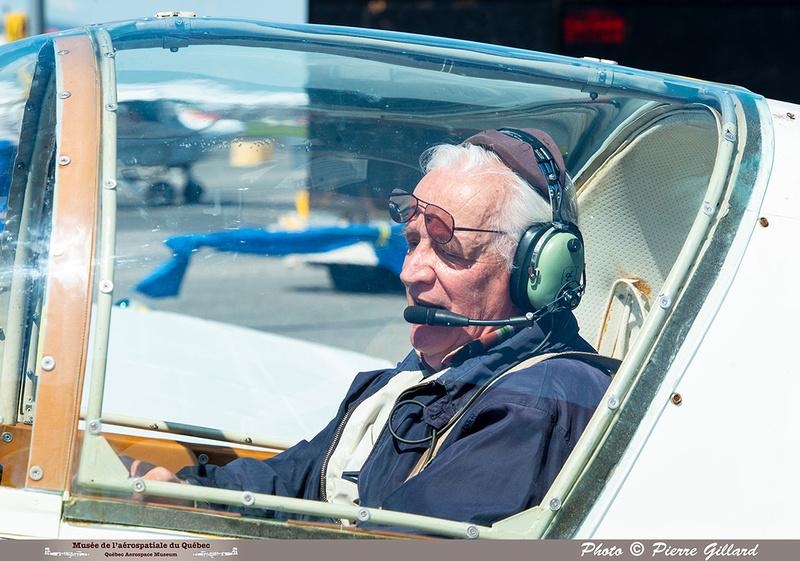 Pierre GILLARD: 2021-07-10 - Dernier vol et arrivée à Saint-Hubert &emdash; 2021-626706
