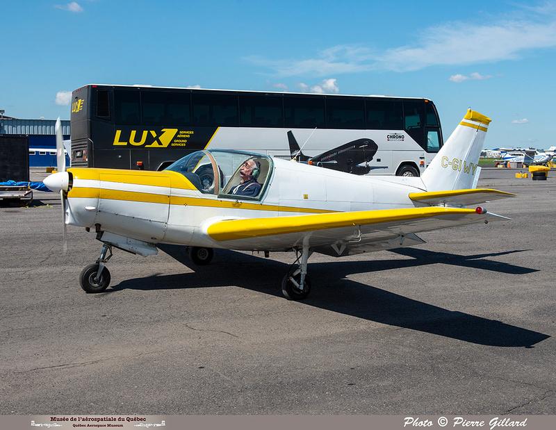 Pierre GILLARD: 2021-07-10 - Dernier vol et arrivée à Saint-Hubert &emdash; 2021-429827