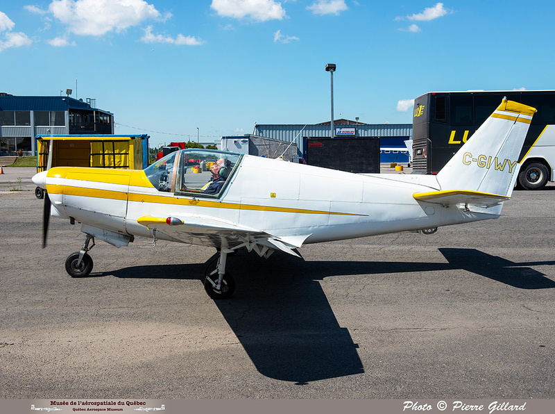 Pierre GILLARD: 2021-07-10 - Dernier vol et arrivée à Saint-Hubert &emdash; 2021-429830