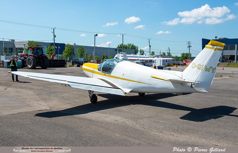 Pierre GILLARD: 2021-07-10 - Dernier vol et arrivée à Saint-Hubert &emdash; 2021-429834