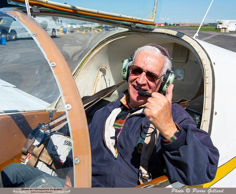Pierre GILLARD: 2021-07-10 - Dernier vol et arrivée à Saint-Hubert &emdash; 2021-429842