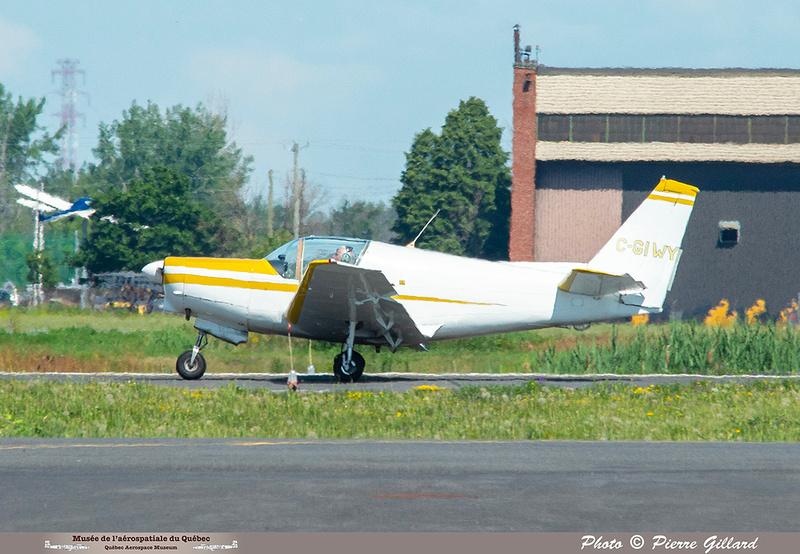 Pierre GILLARD: 2021-07-10 - Dernier vol et arrivée à Saint-Hubert &emdash; 2021-626686