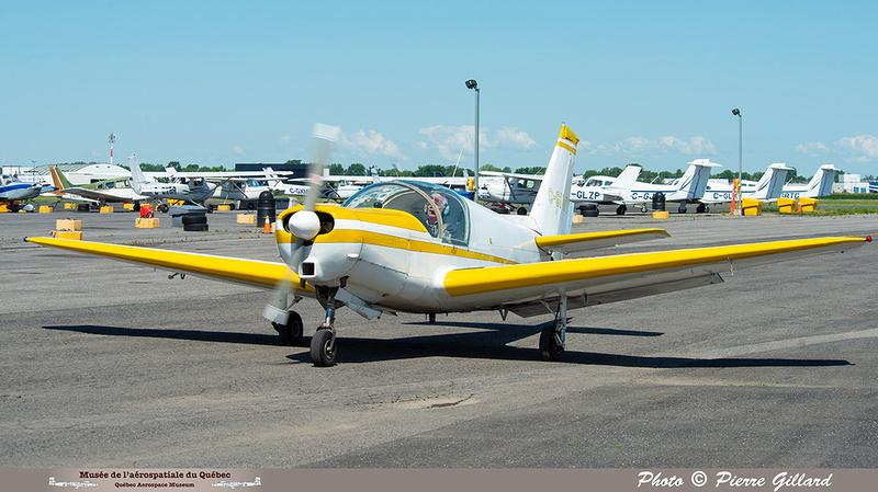 Pierre GILLARD: 2021-07-10 - Dernier vol et arrivée à Saint-Hubert &emdash; 2021-626704